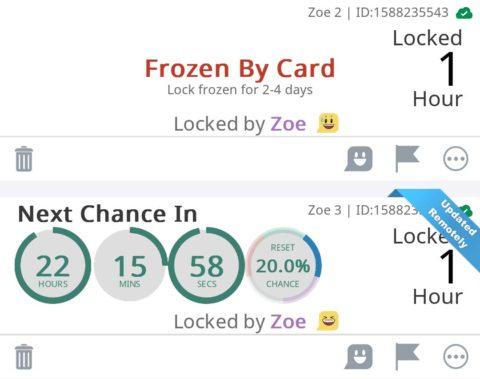 Chastikey – Locked by Zoe